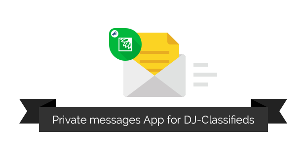 private messages dj classifieds app blog